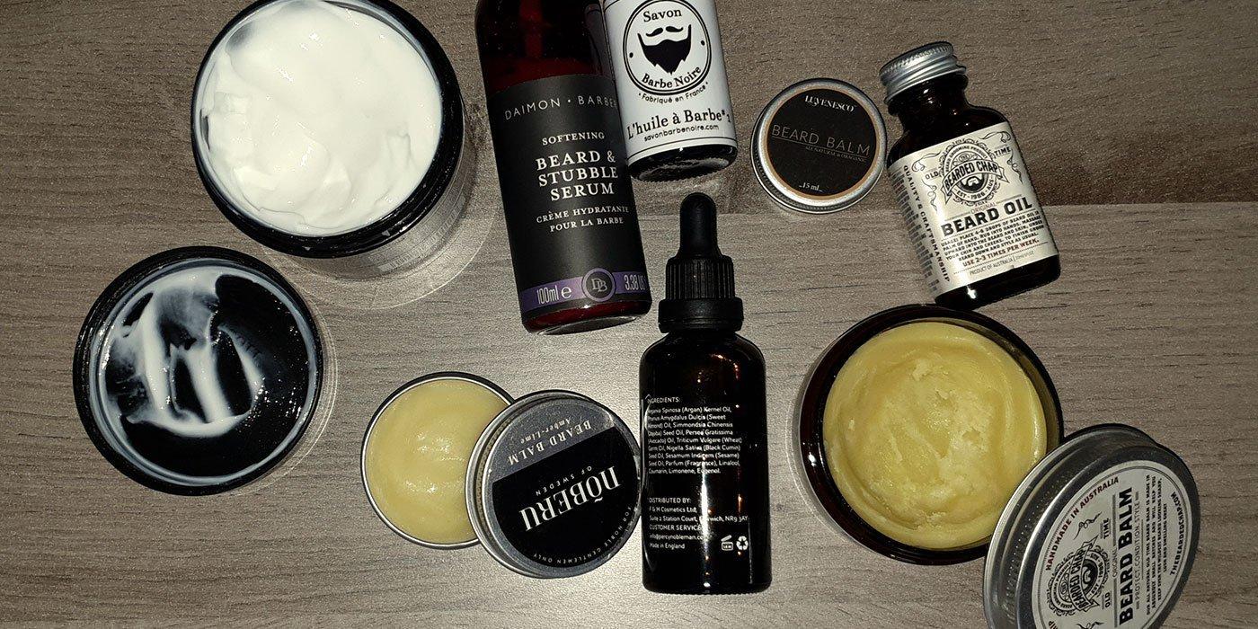 huile ou baume pour barbe