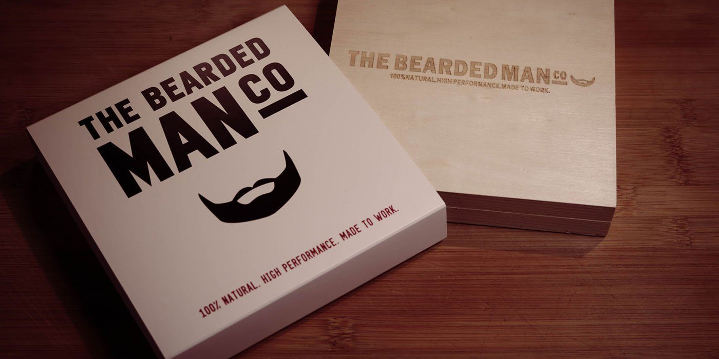 the bearded man company huile de barbe