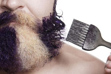 comment teindre sa barbe