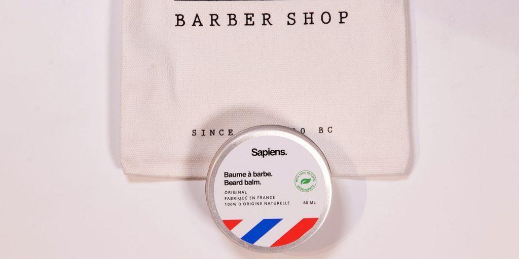 sapiens baume à barbe à l'huile de ricin