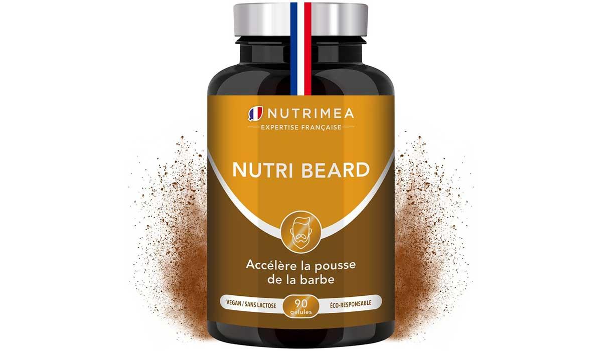 Nutri Beard complément alimentaire pour barbe